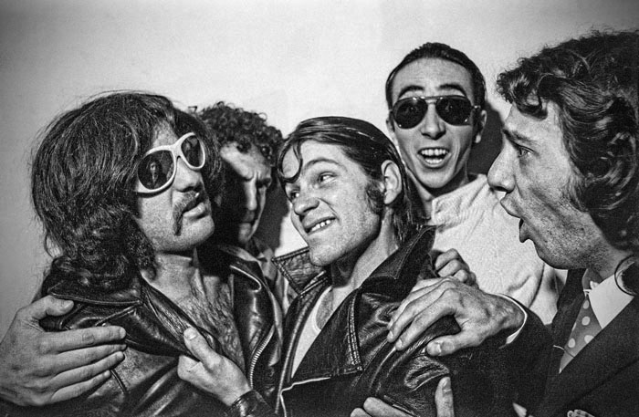 Quartiers Nord, 1981, séance photos avec Alain Marié (batterie) à Sainte Marthe (14ème)