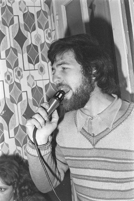 Quartiers Nord, décembre 1977, répétitions avec Philip Julien (batterie)