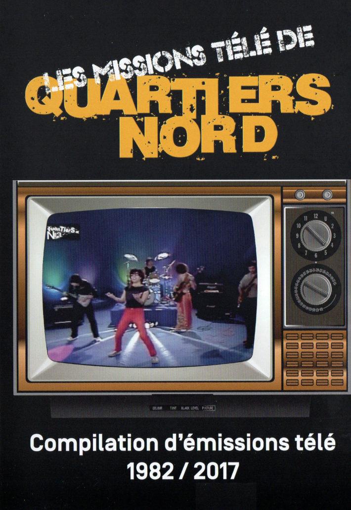 Quartiers Nord, DVD Les missions télé, compilation d'émissions télé 1982 / 2017