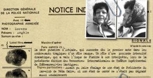 Quartiers Nord, spectacle 2001 L'odyssée de l'Estaque, personnage Angèle