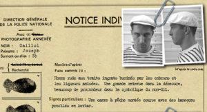Quartiers Nord, spectacle 2001 L'odyssée de l'Estaque, personnage Zé