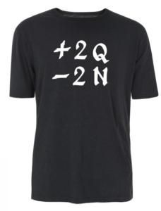 Quartiers Nord, T-shirt +2Q -2N