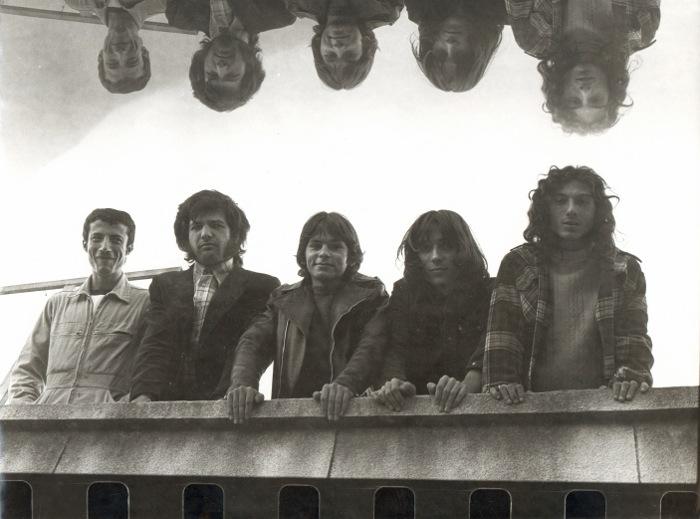 Quartiers Nord, novembre 1977, premières photos du groupe