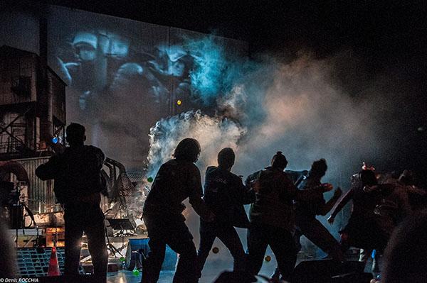 Quartiers Nord, spectacle Tous au piquet ! Photo Denis Rocchia
