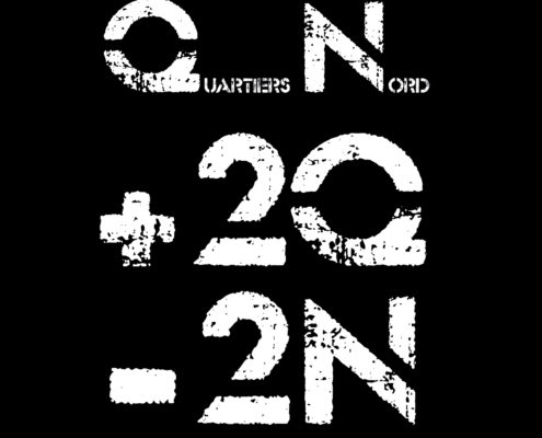 Quartiers Nord, CD +2Q -2N, recto